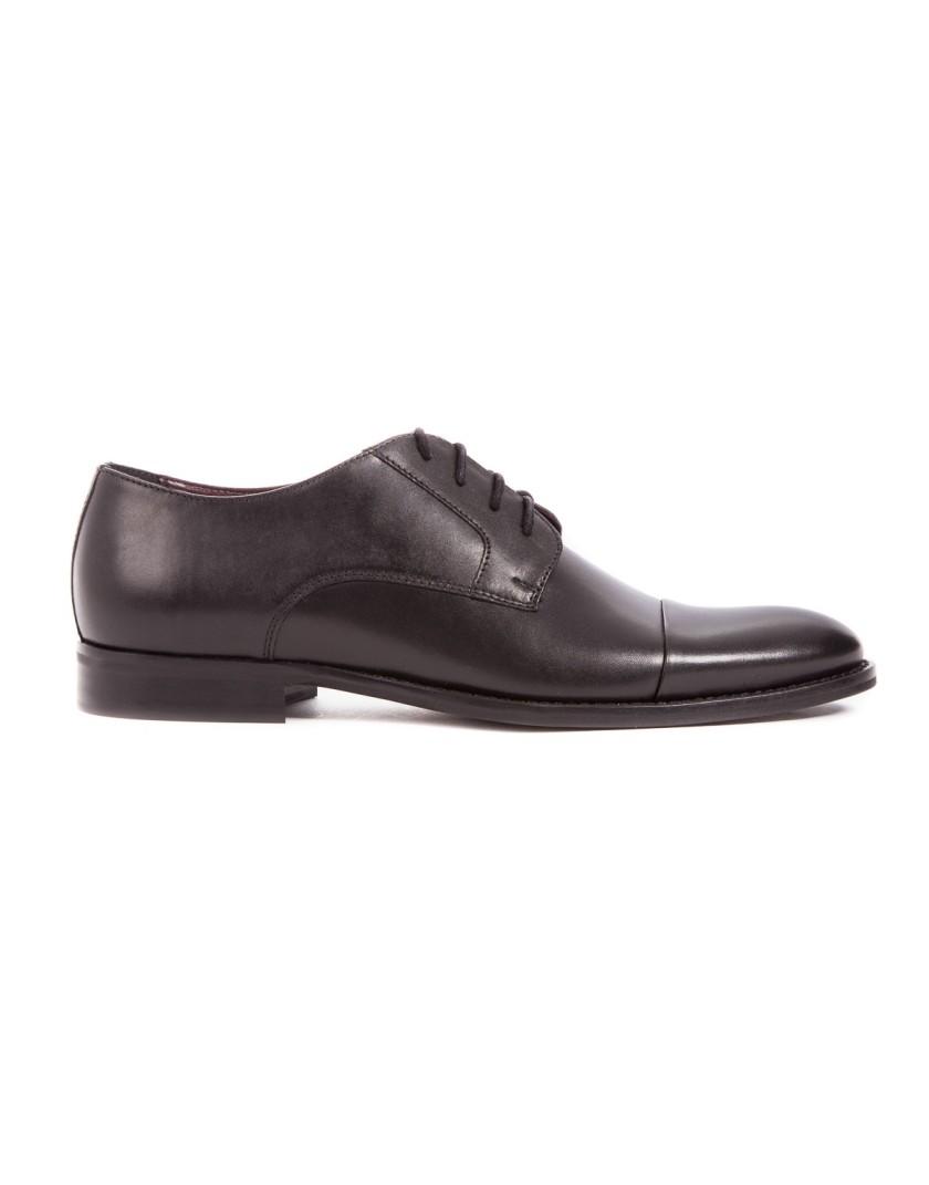 Czarne eleganckie buty męskie OD3831