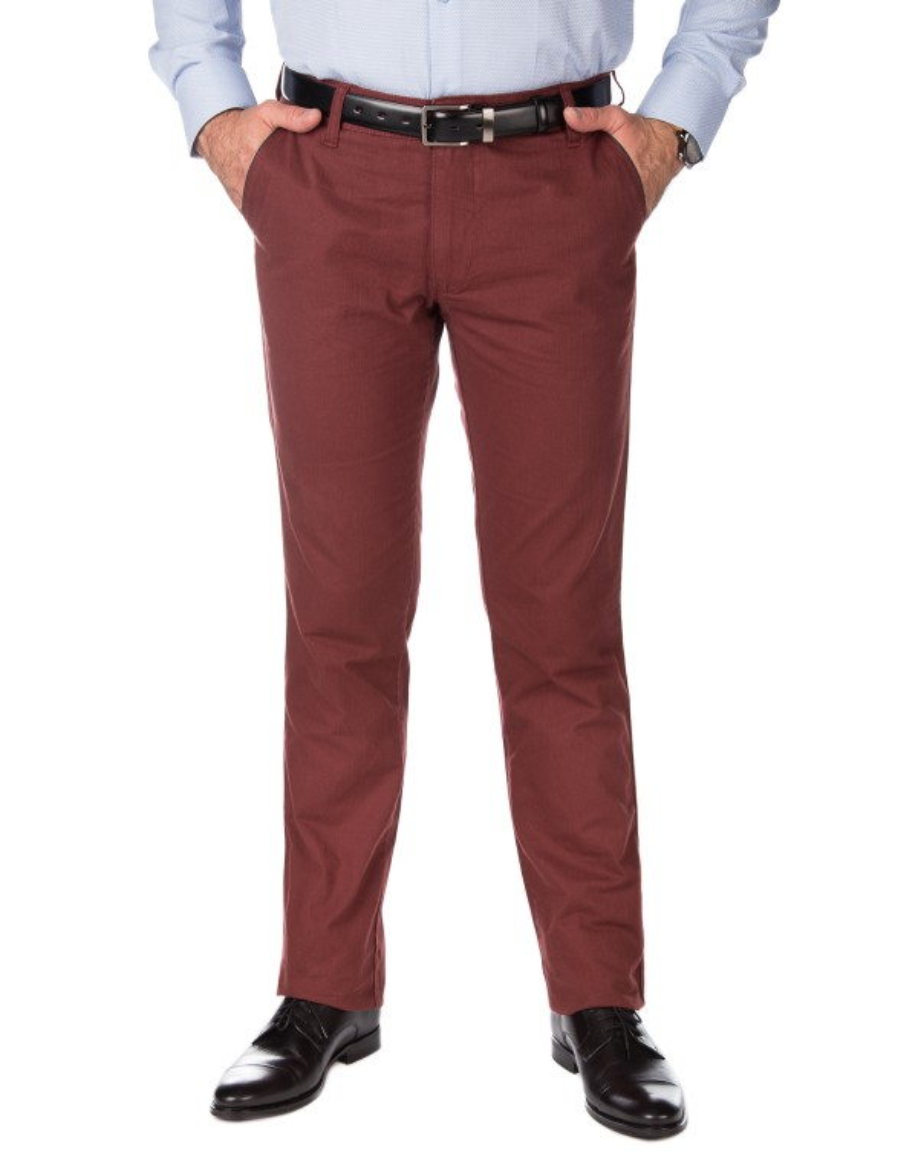 Bordowe spodnie męskie SV0040
