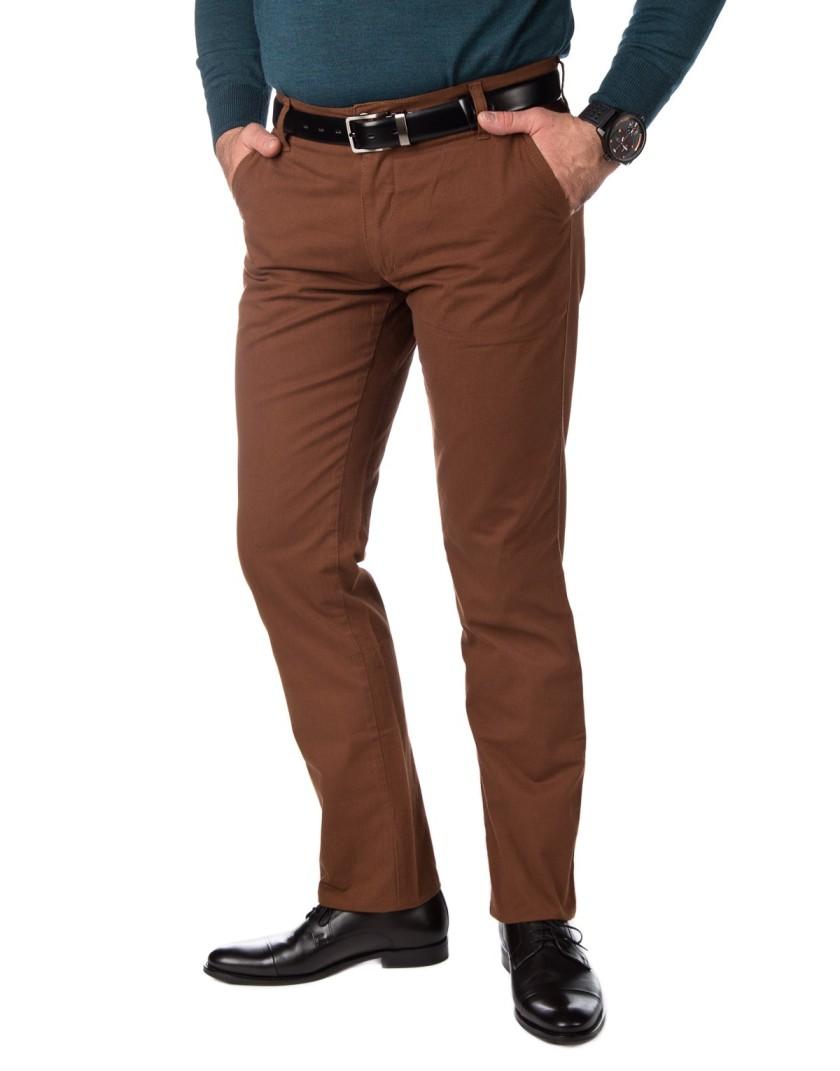 Brązowe spodnie męskie SV0041
