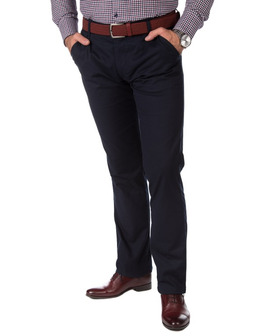 Granatowe spodnie męskie SV0059