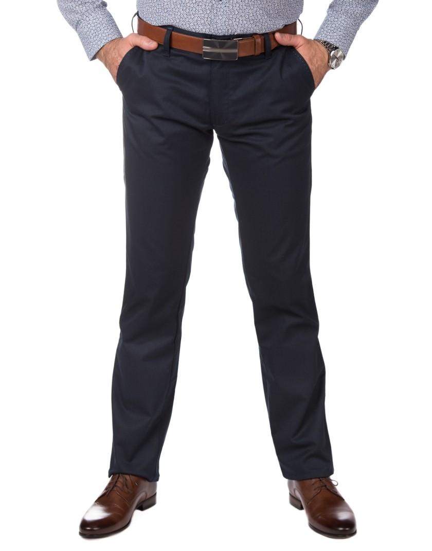 Granatowe spodnie męskie SV0087