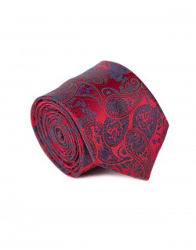 Krawat we wzór paisley