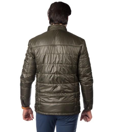 Oliwkowa krótka kurtka Sebastian WS0088