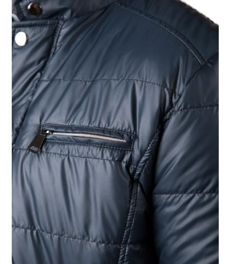 Granatowa krótka kurtka Sebastian WS0089