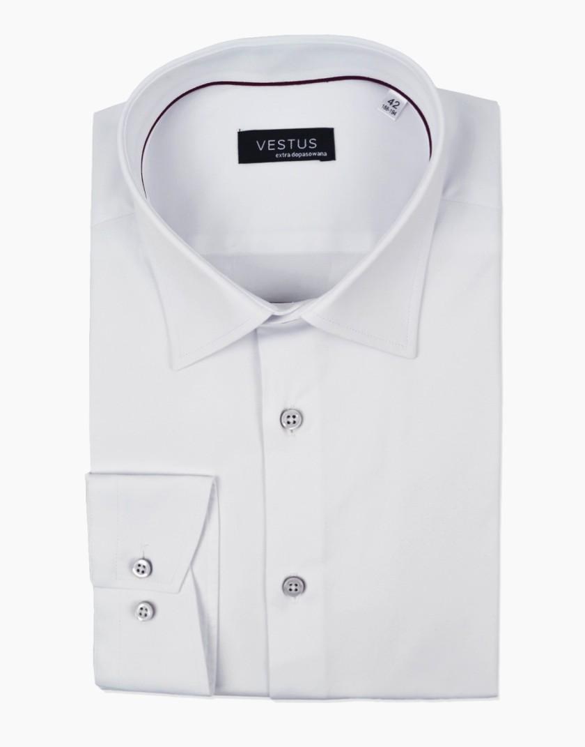 Biała koszula męska KT4061