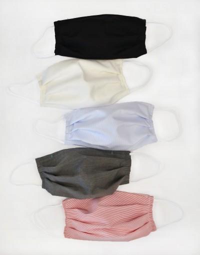Maski bawełniane z kieszonką 5szt