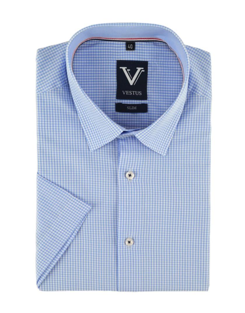 Koszula męska z krótkim rękawem KR1020