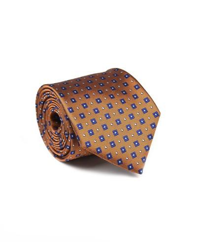Złoty krawat w mikrowzór