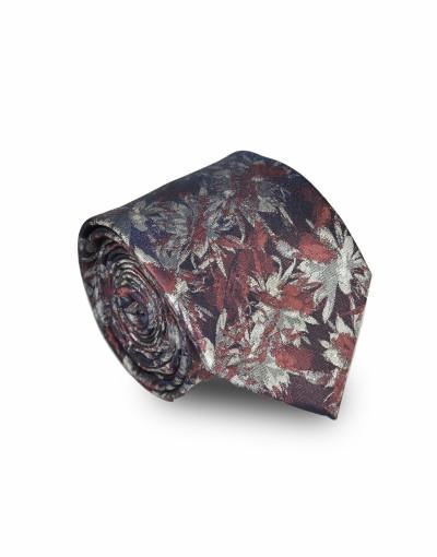 Krawat w brązowych odcieniach