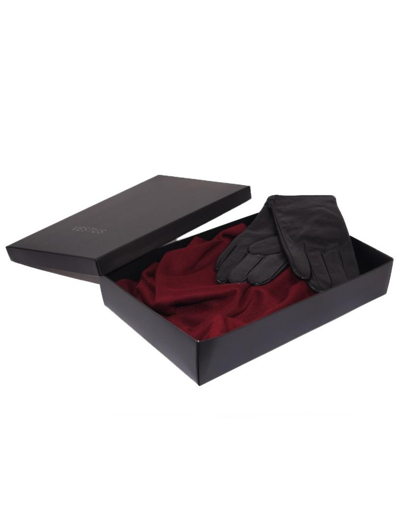 Zestaw prezentowy dla Niego- szal plus rękawiczki