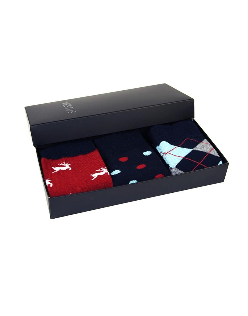 Zestaw prezentowy dla Niego- kolorowe skarpety