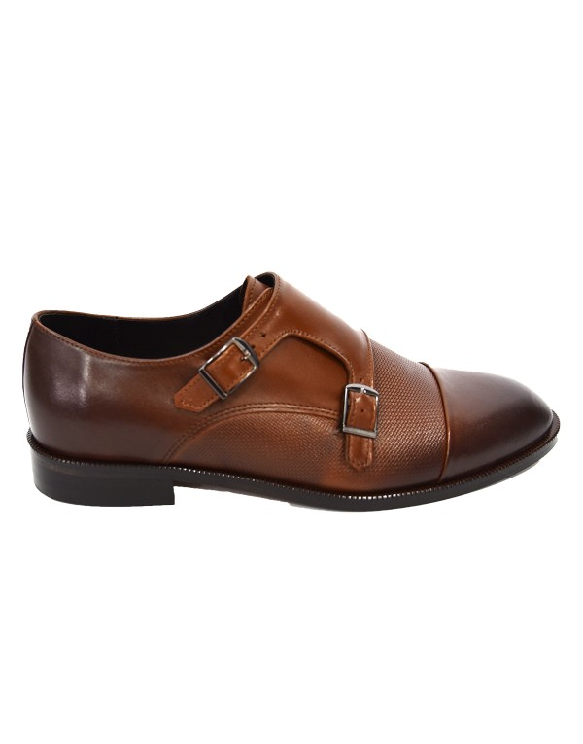 Męskie buty z klamrami typu monky OA0595