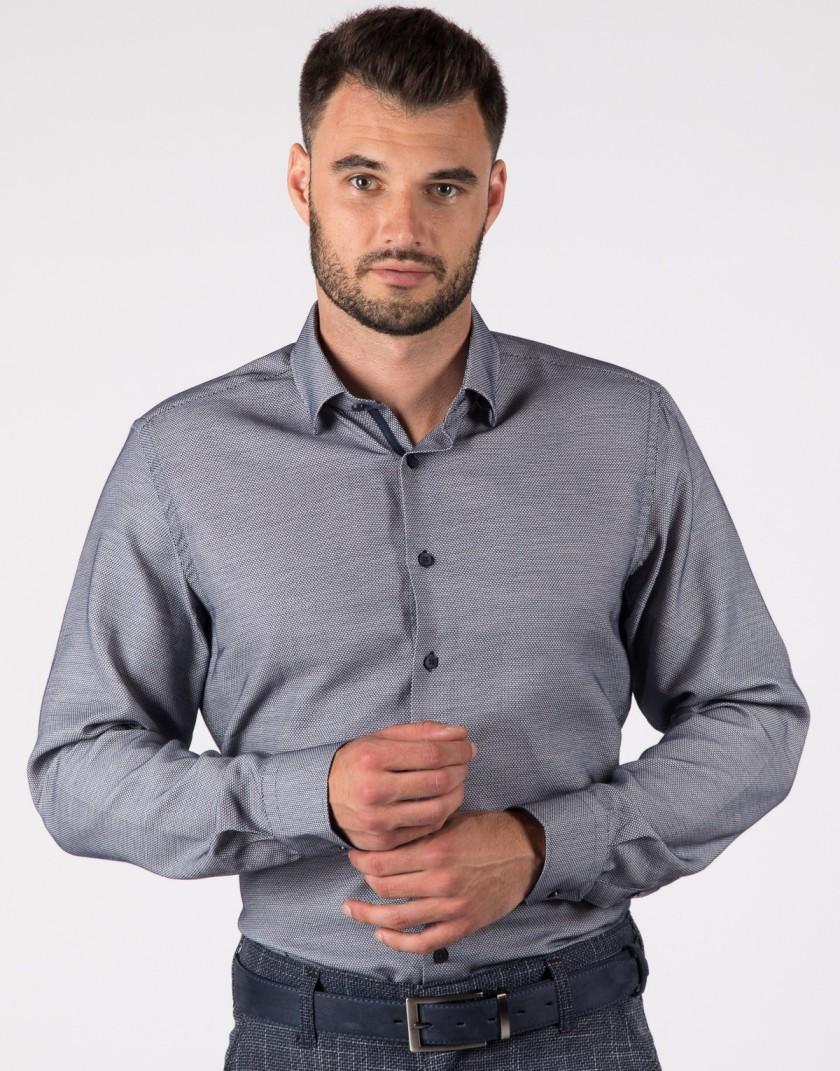 Granatowa Koszula męska KT4082