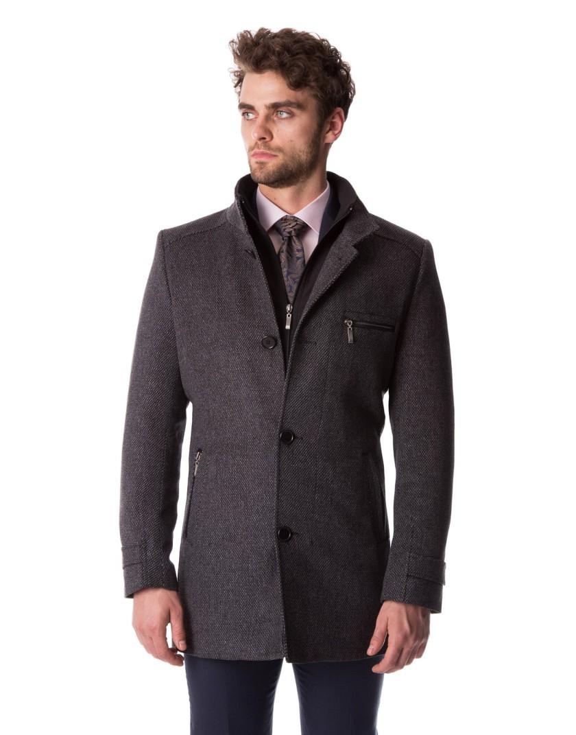 Melanżowy płaszcz Dariusz ZM0121