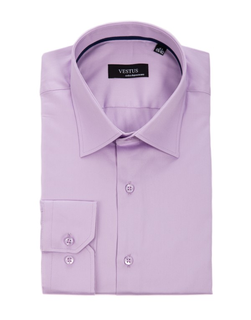Wrzosowa koszula męska KT4017