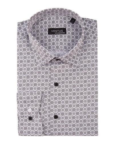 Koszula w geometryczny wzór KT4049
