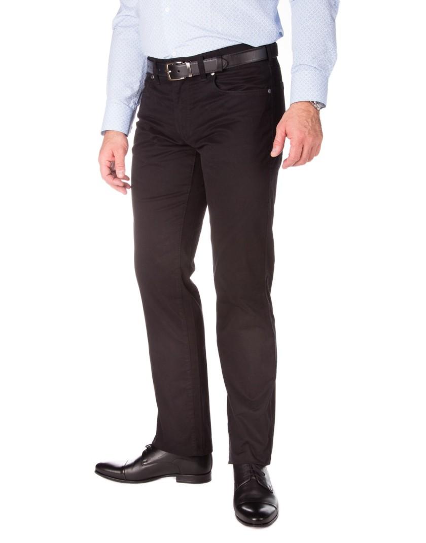 Klasyczne czarne spodnie męskie SV0023