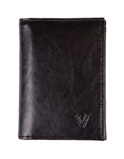 Czarny portfel DW2112
