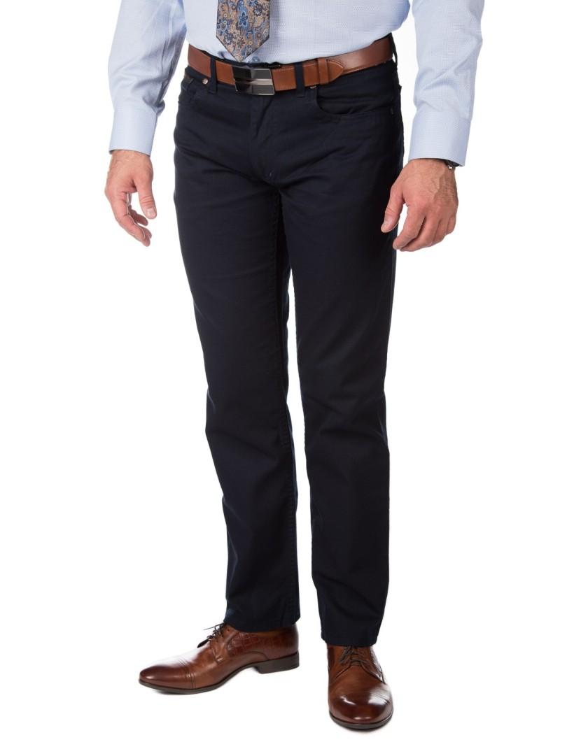 Granatowe spodnie męskie SV0036